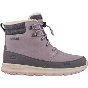 Viking Footwear Rotnes GTX Shoes Kids pearlgrey/darkgrey